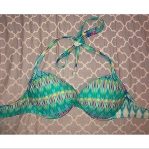 Xhilaration Tie-Dye Push Up Bikini Top